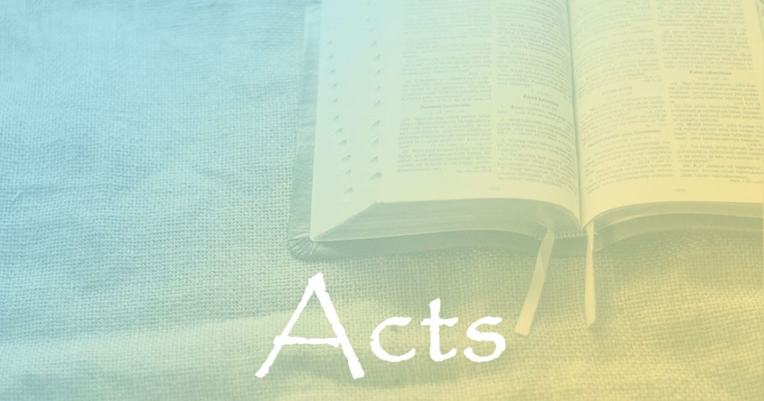 Acts:  Introduction Part 1