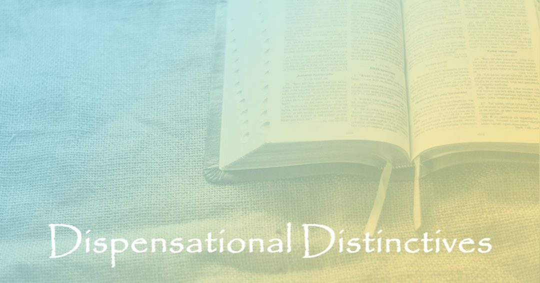 Dispensational Distinctives 2:  Part 12 – We Do Not Become a Part of Israel's Covenant