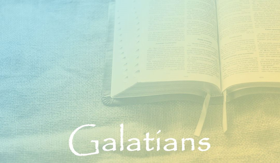 Galatians 6:16-18:  Peace, Mercy, and Grace