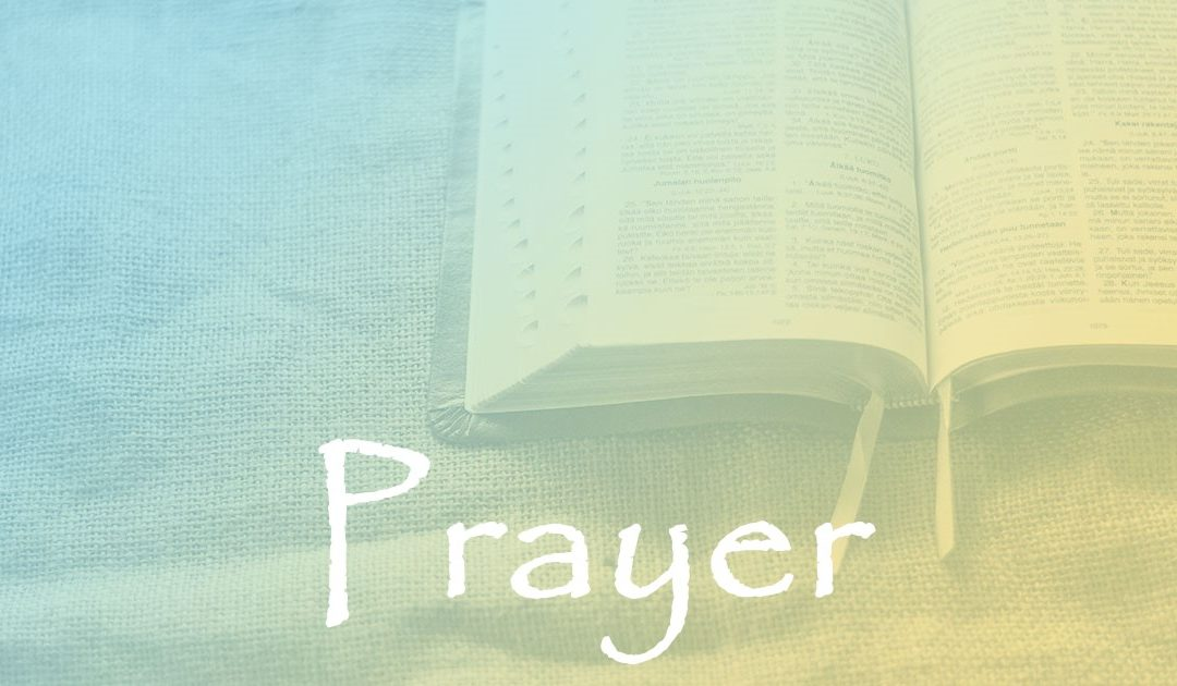 Prayer:  Part 3 – Prayer & the Holy Spirit's Intercession