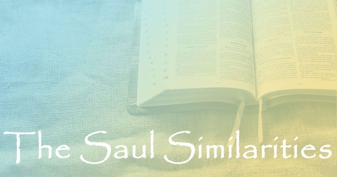 The Saul Similarities:  Part 3 – Israel's Rejection Connection