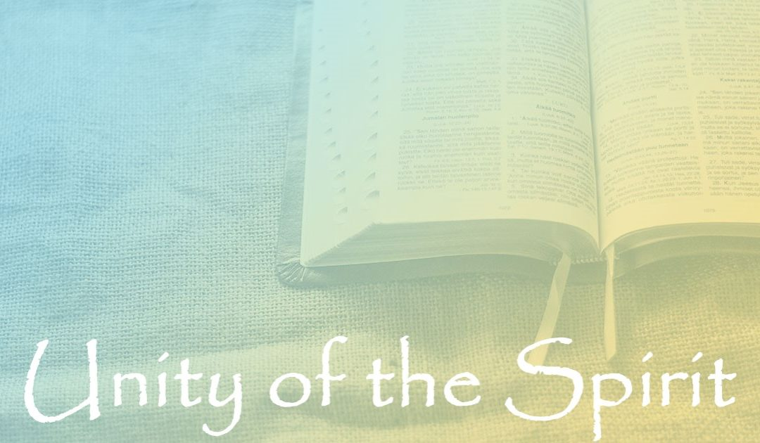 The Unity of the Spirit:  Part 5