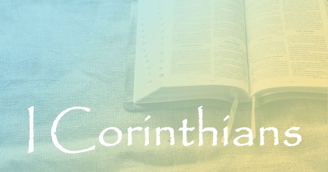 I Corinthians 16:1:  The Collection for the Saints