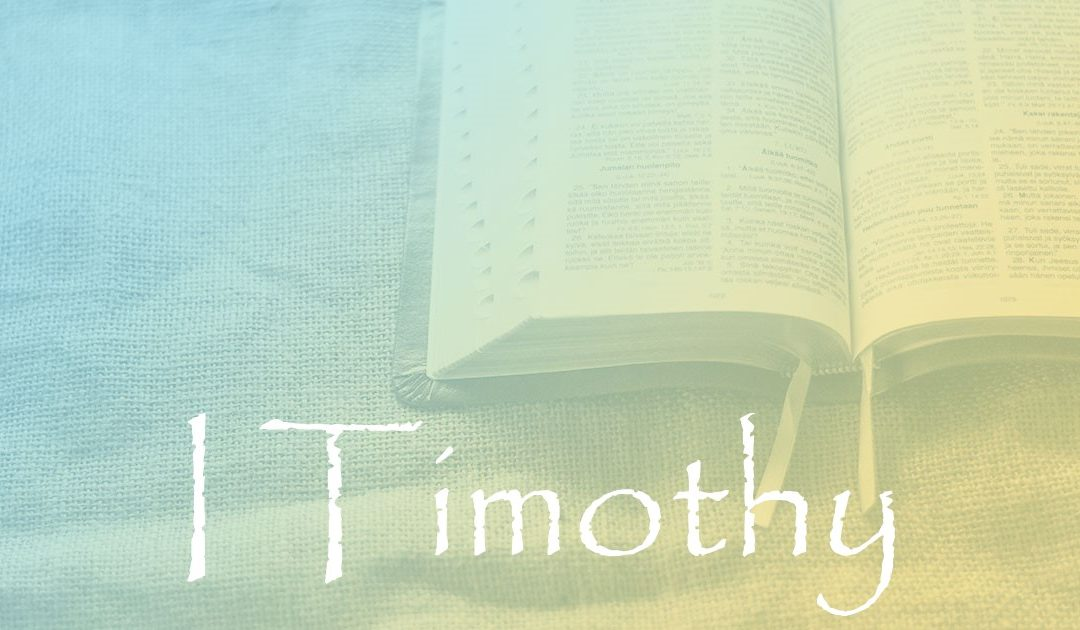 I Timothy 1:11:  Committed to Paul, Committed to Timothy, Committed to You
